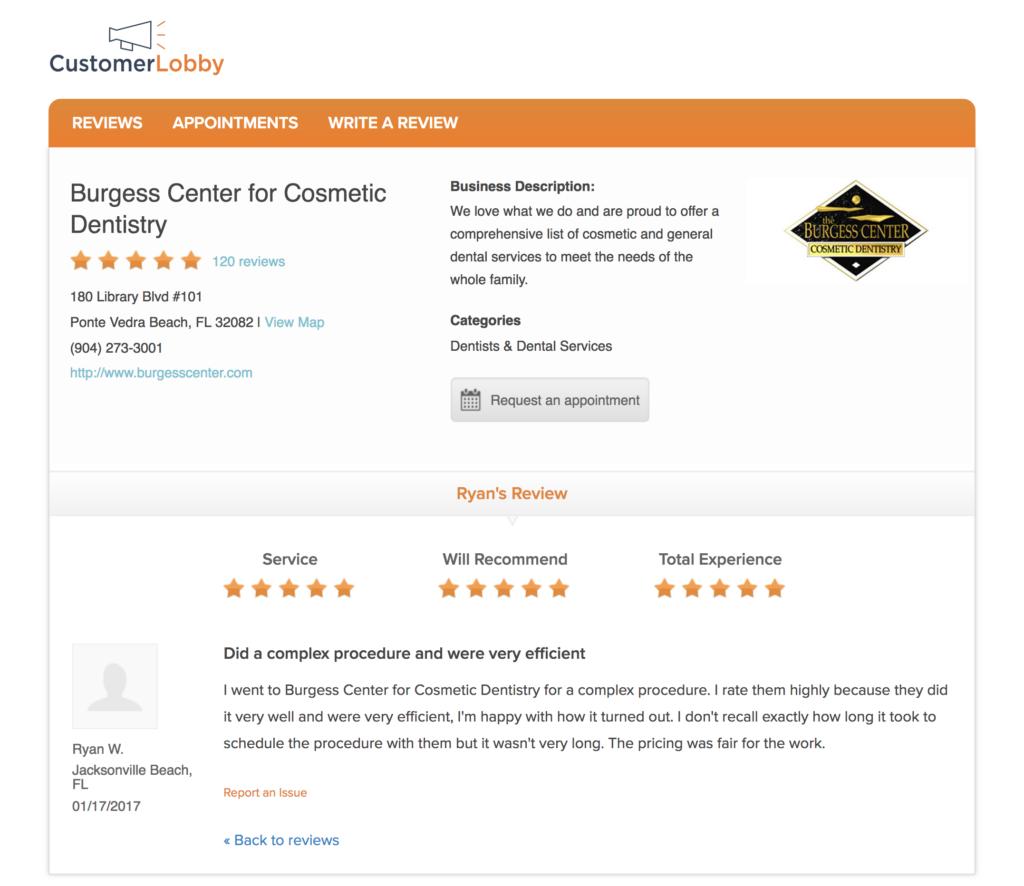 five star dental reviews